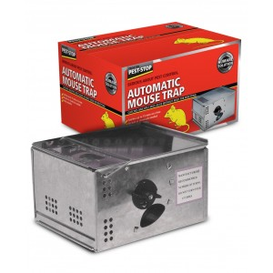 Pest-Stop Automatic Metal Mouse Trap
