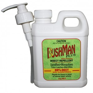Bushman Plus Pump Pack 1kg