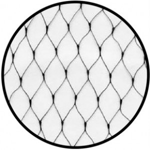 Bird Netting - Light Weight Extruded - BLACK