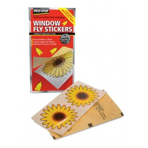 Pest-Stop Window Fly Stickers