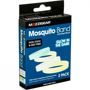 Mozzigear Mosquito Bands - Glow In The Dar