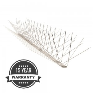 Stainless Steel Bird Spikes - Extra Wide