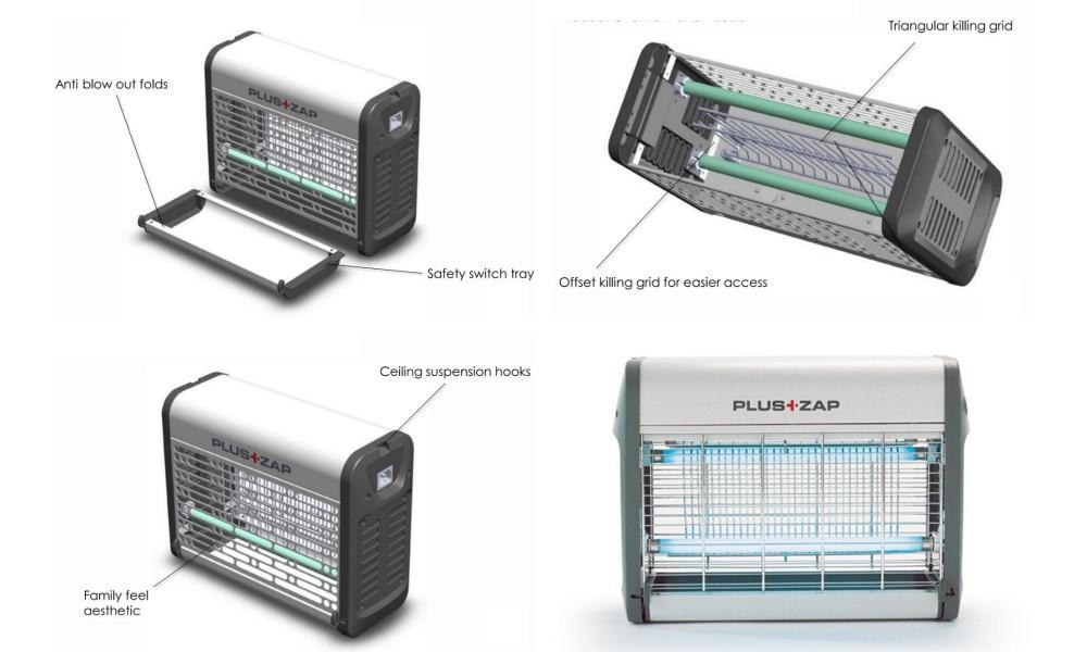 Plus Zap Bug Zapper 16W Features