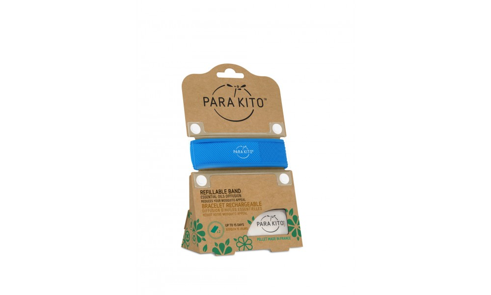 Para'Kito Refillable Mosquito Band - Solid
