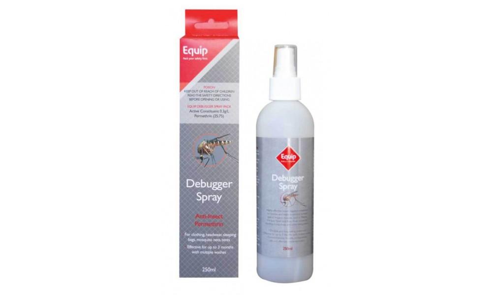 Equip Debugger Spray