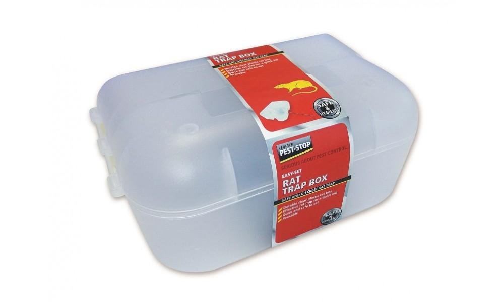 Pest-Stop Easy-Set Rat Trap Box