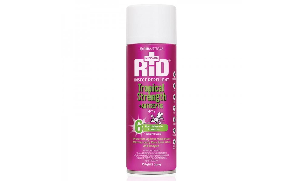 RID Tropical Strength + Antiseptic Aerosol