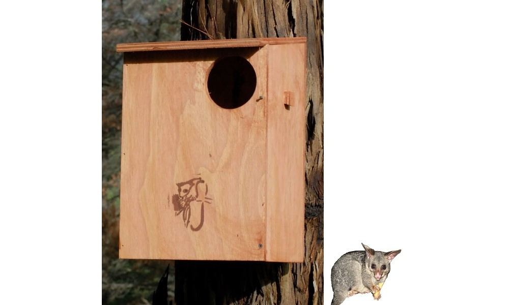 Possum Nesting Box Kit - Brushtail