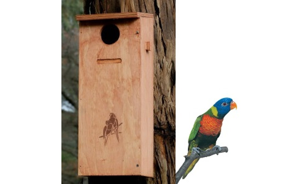 Parrot Nesting Box Kit - Small