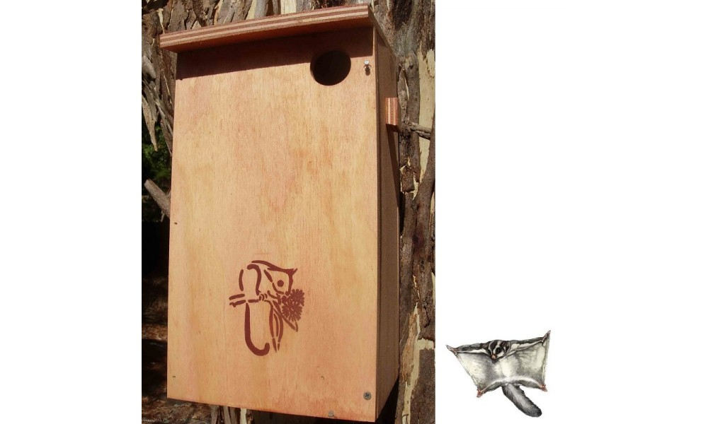 Squirrel Glider Nesting Box Kit