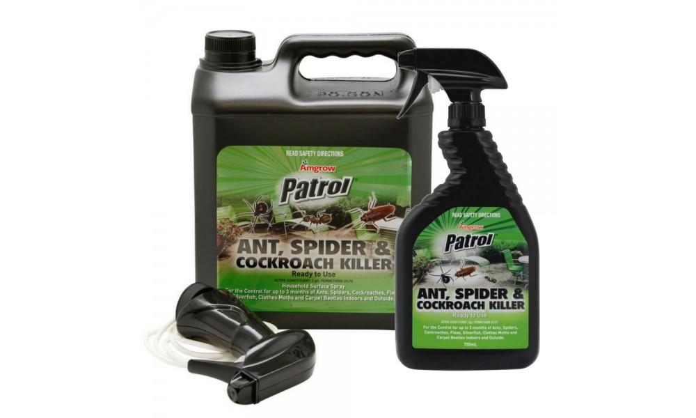 Amgrow Patrol Ant Spider & Cockroach Killer (RTU)