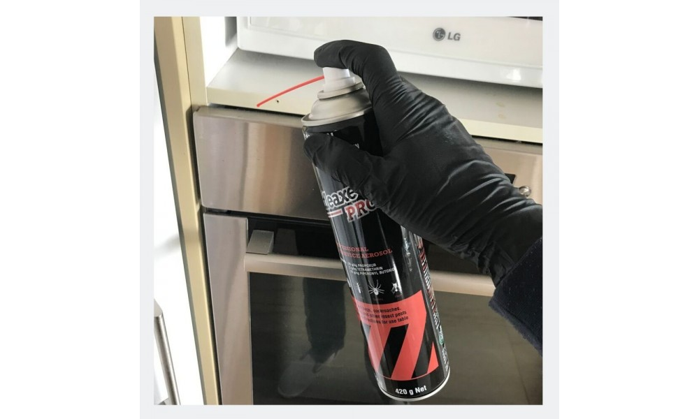 Battleaxe Pro Aerosol spraying oven for cockroaches