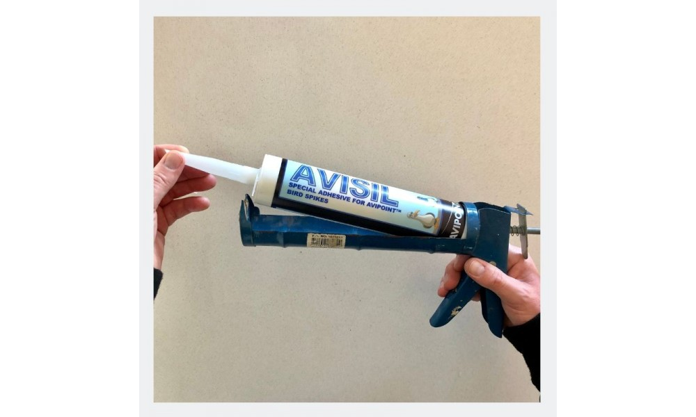 Avisil Bird Spike Adhesive Caulking Gun