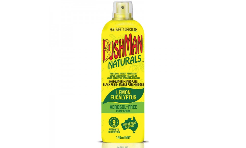Bushman Naturals Lemon Eucalyptus Pump Spray