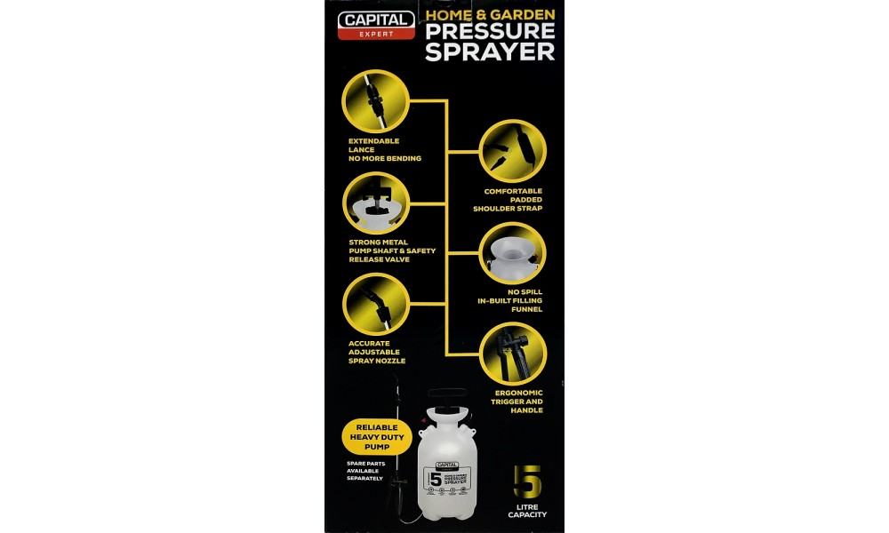 Capital Pressure Sprayer 5 Litre