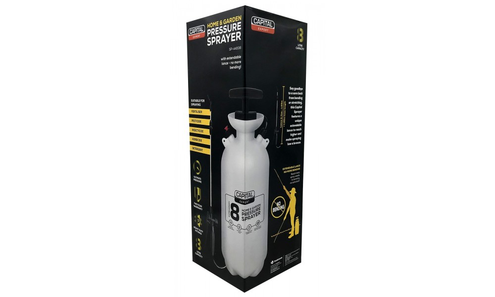 Capital Pressure Sprayer 8 Litre