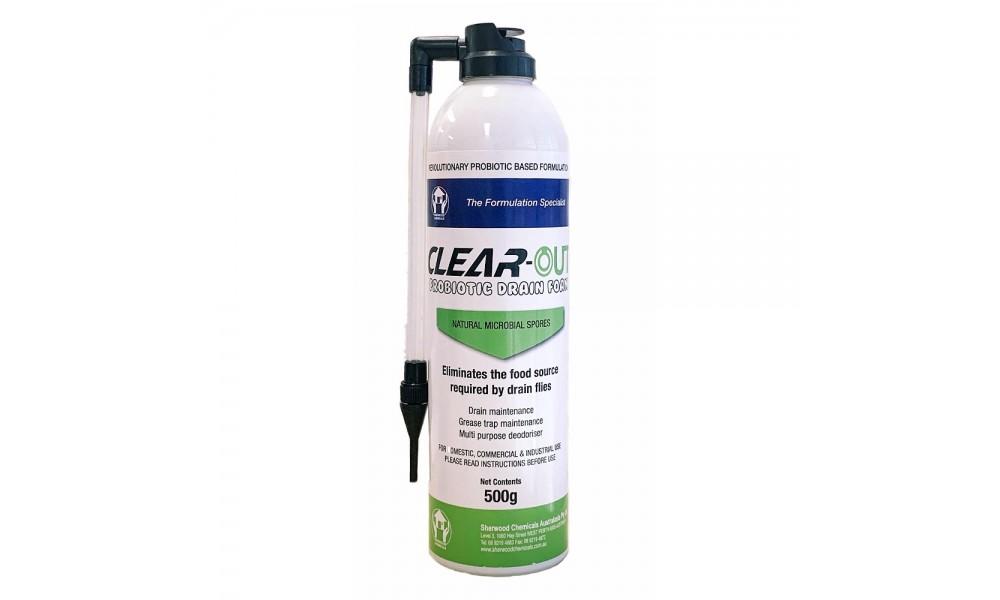 Clear Out Probiotic Drain Foam