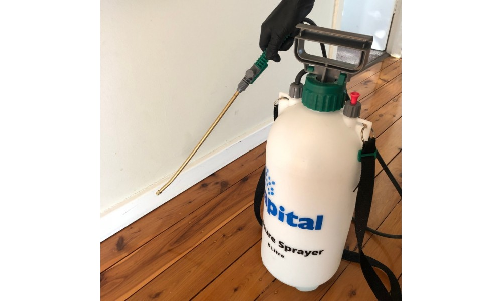 Delforce Insecticide Spraying Inside
