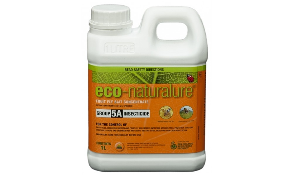 Eco Naturalure Fruit Fly Bait Safe Organic Control Buy