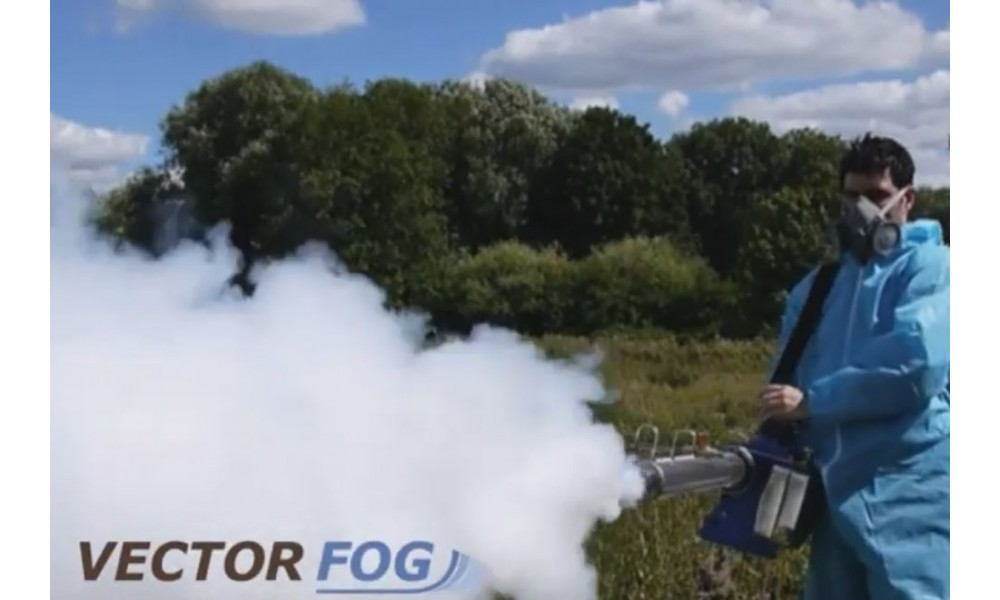 Vectorfog H200SF Thermal Fogger In use