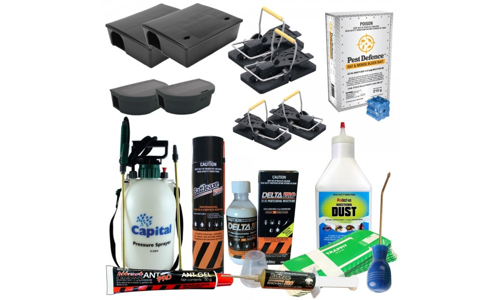 Mega DIY Pest Control Pack - Basic