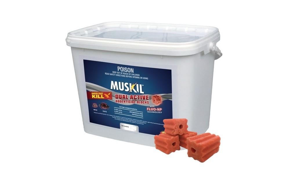 Muskill Block Bait
