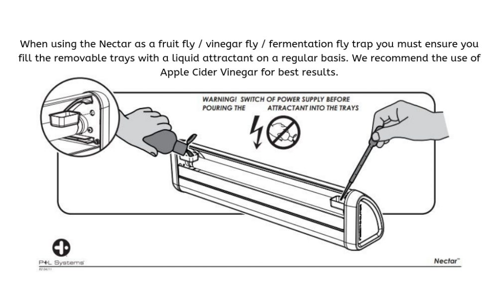 Nectar Attractant filling instructions