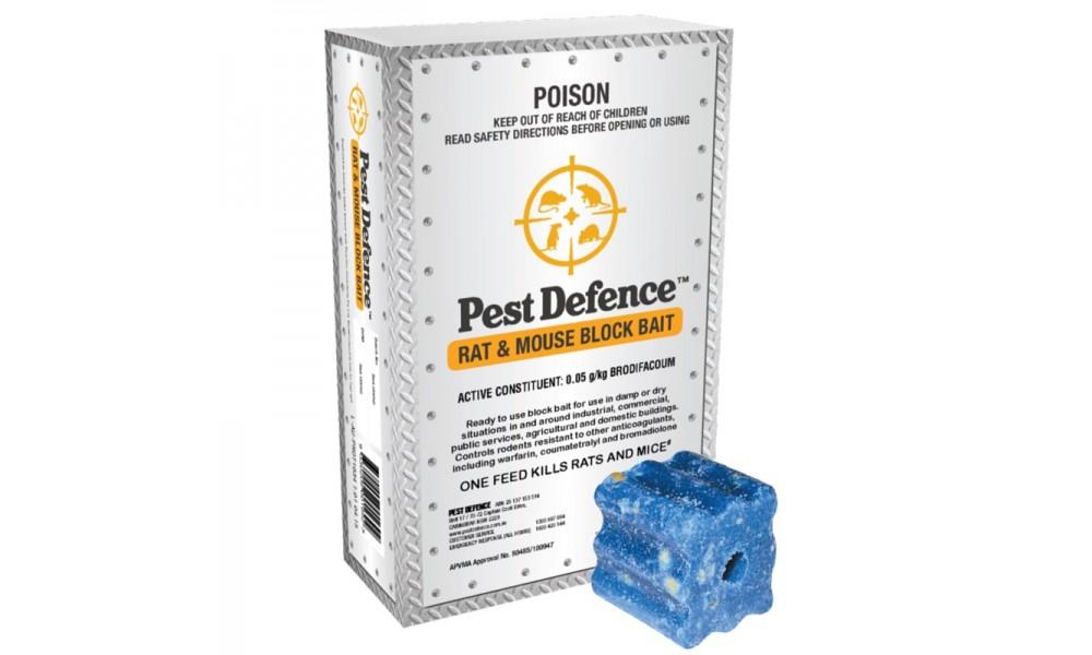 Pest Defence Rat & Mouse Block Bait