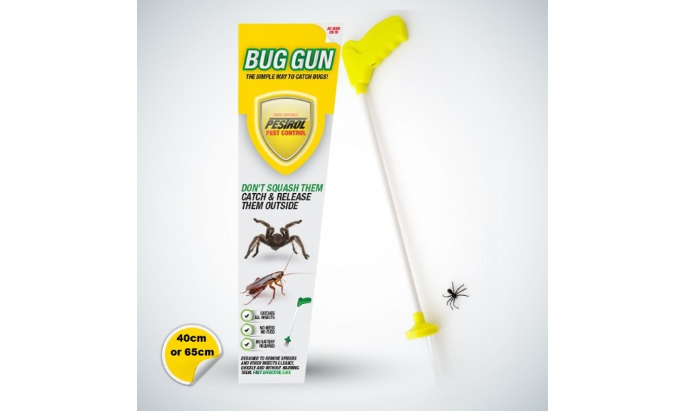 Pestrol Bug Gun Spider Catcher - 2 for 1 SPECIAL OFFER