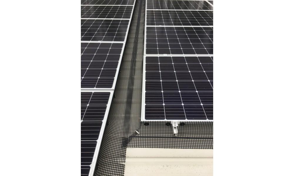 Solar Panel Bird Mesh - HDPE Plastic