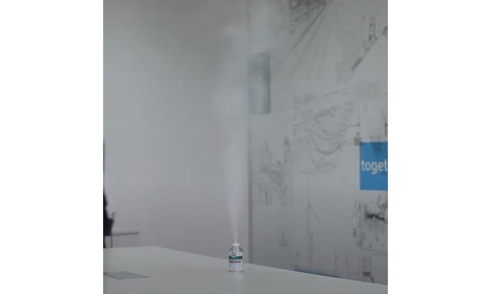Ramsol Hospital Grade Disinfectant Fogger In Use