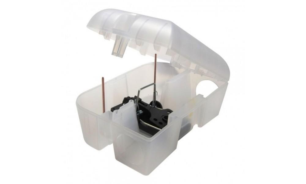 Pest-Stop Easy-Set Rat Trap Box Open