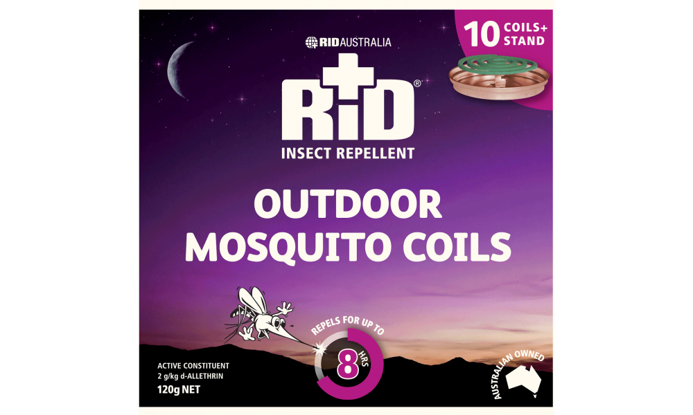 Rid Outdoor Mosquito Coils