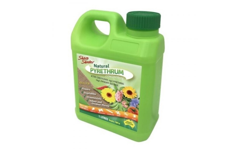 Sharp Shooter Natural Pyrethrum Insect Spray 1 Litre
