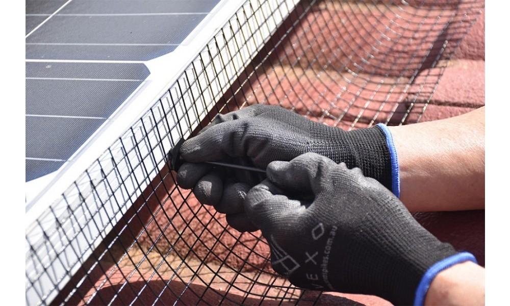 Solar Panel Bird Mesh - 10m Extension Kit