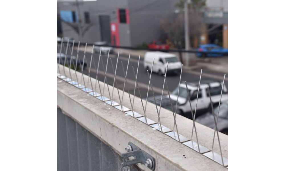 Stainless Steel Bird Spikes - Narrow In Use