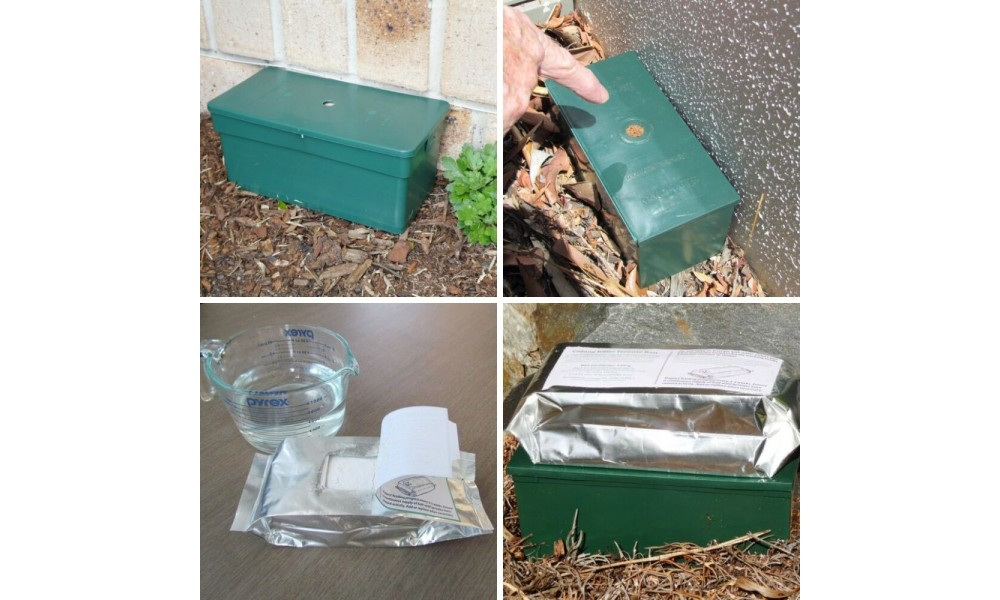 Termite Control Kit Application