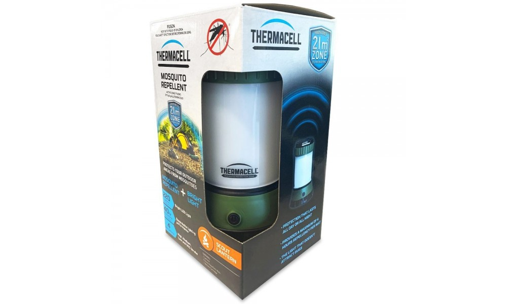 Thermacell Mosquito Repeller - Scout Lantern
