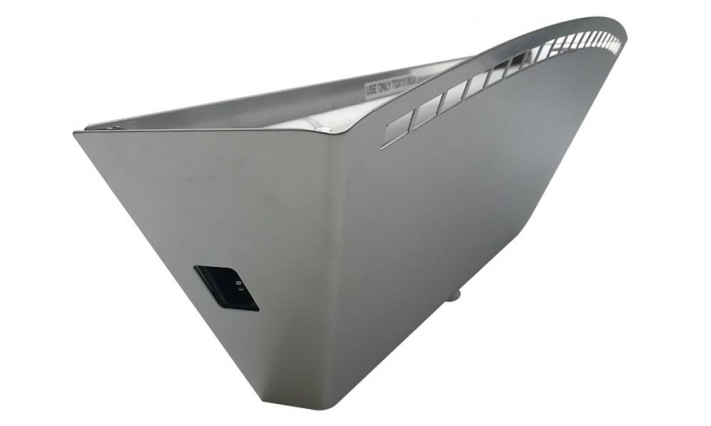D301 Uplighter Silver