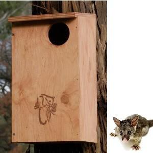 Possum Nesting Box Kit - Ringtail