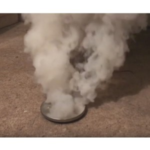 Delta Fume Smoke Generator in use