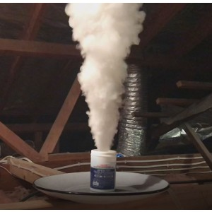Imperator Smoke Generator in roof void