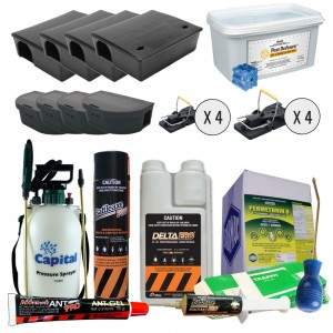 Mega Pest Control Pack - Deluxe