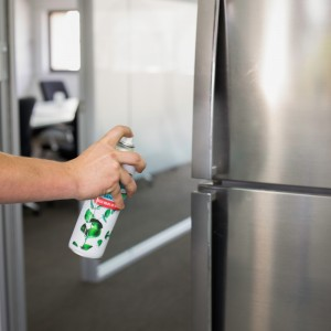 Ramsol Hospital Grade Disinfectant Aerosol Spray in use