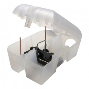 Pest-Stop Easy-Set Rat Trap Box Open