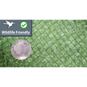 Wildlife Friendly Bird Netting - BLACK