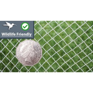 Wildlife Friendly Bird Netting - WHITE