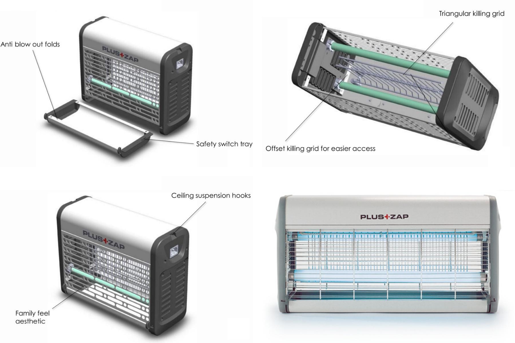 Plus Zap 30W Features