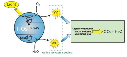 Photocatalyst Oxygen