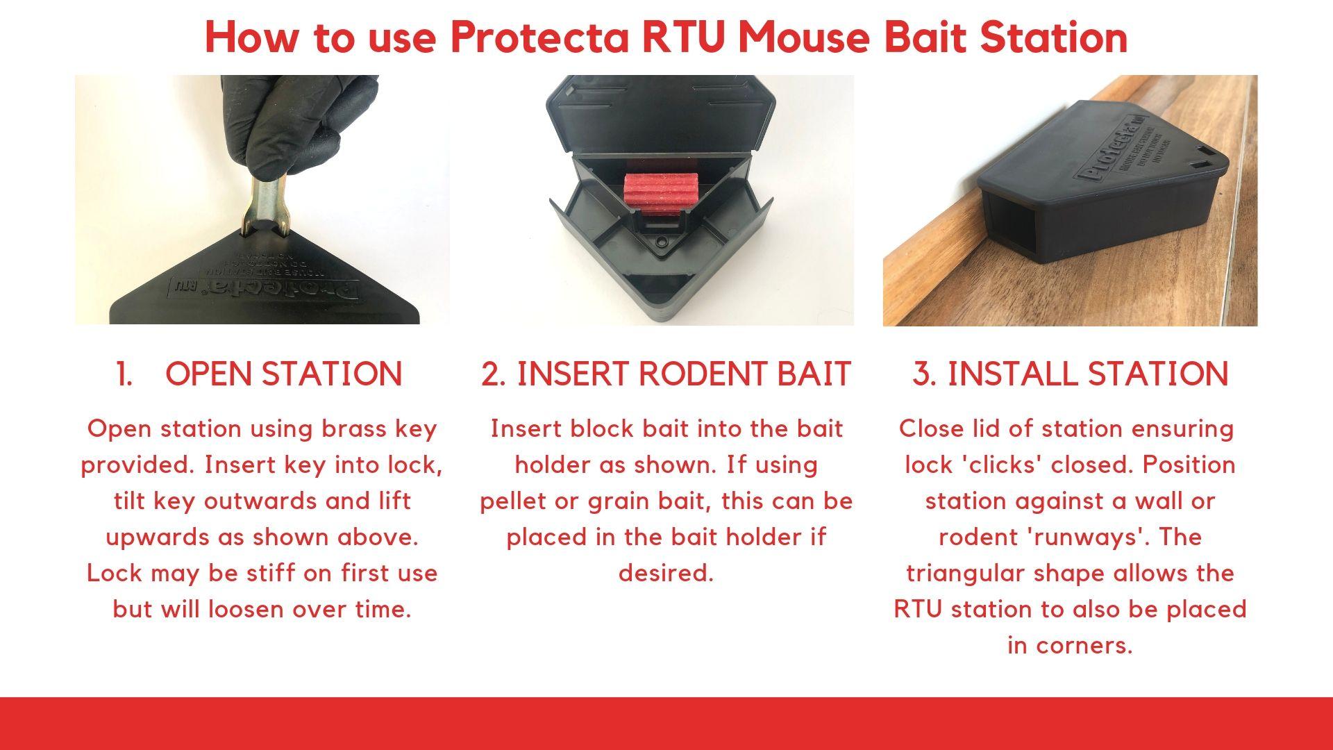 Protecta RTU Bait Station Instructions